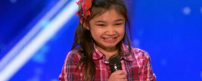 concours chant fillette 9 ans america got talent