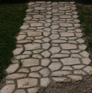maison faire allee en beton astuce