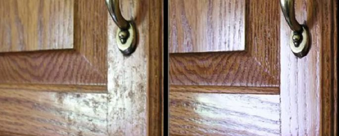 nettoyer porte armoire