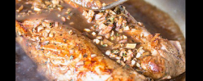 recette marinade porc erable