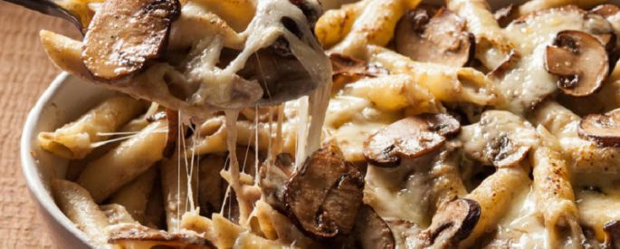 recette pate champignon vin blanc