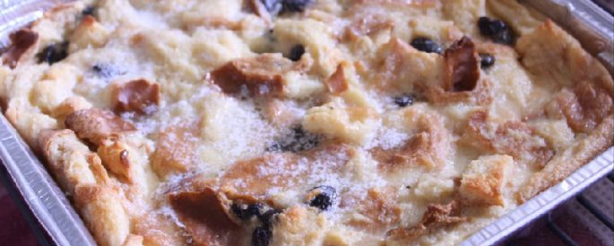 recette pudding au pain raisin grand maman