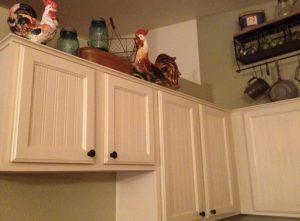 reno armoire cuisine papier peint apres
