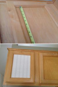 reno armoire cuisine papier peint avant apres