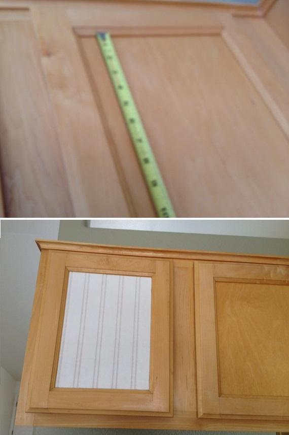 Voici comment r nover des armoires de cuisine avec du for Peinture apres papier peint