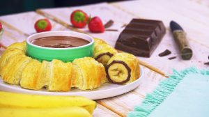 rouleau bananes nutella