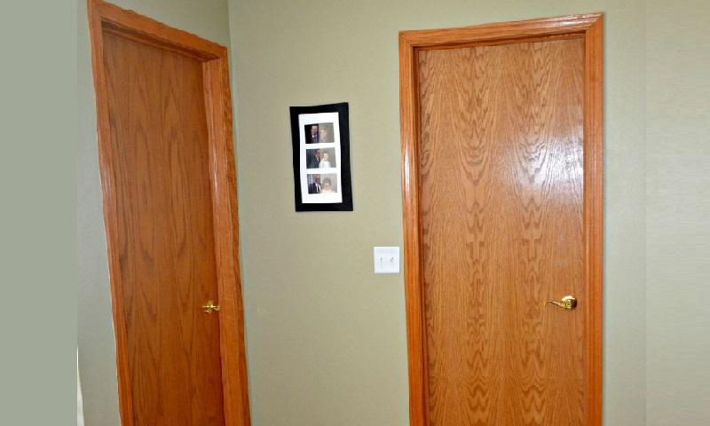 Une porte pas cher finest une porte pas cher with une - Transformer une porte en porte coulissante ...