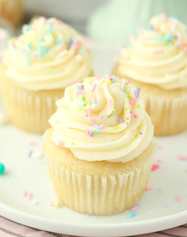 Recette cupcake vanille ultra moelleux