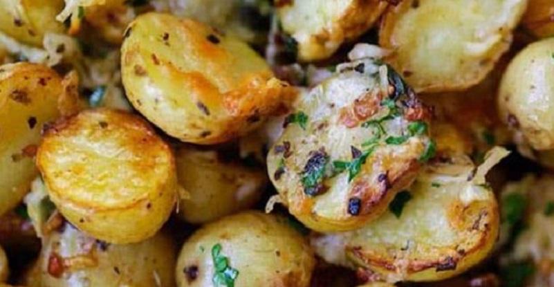 Des pommes de terre r ties l italienne c 39 est - Pomme de terre rissolees maison ...