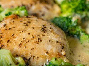 recette poulet brocolis