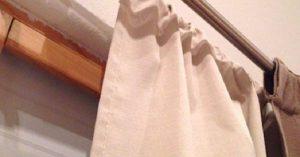 astuce rideau pole elastique geniale