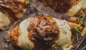 recette blanc poulet sauce oignon