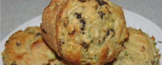 recette muffin courgette pomme