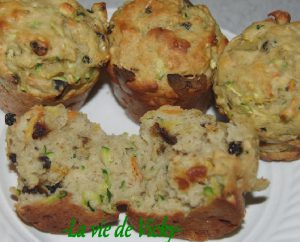 recette muffin courgettes pommes