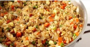 recette riz frit restaurant