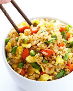 recette riz frit restaurant facile