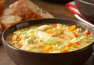 recette soupe poulet nouille maison