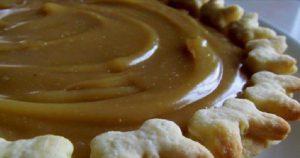 recette tarte caramel