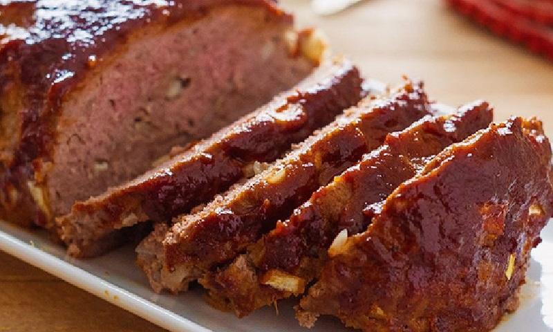 Savoureux pain de viande avec sauce barbecue et miel un for Barbecue de jardin