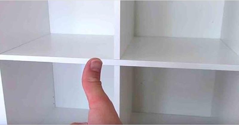 Elle Achete Un Cube De Rangement Chez Ikea Et L Utilise D Une Maniere Tres Originale Genial